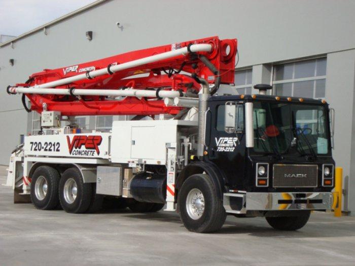 Viper Concrete   Mobile Pumping Services