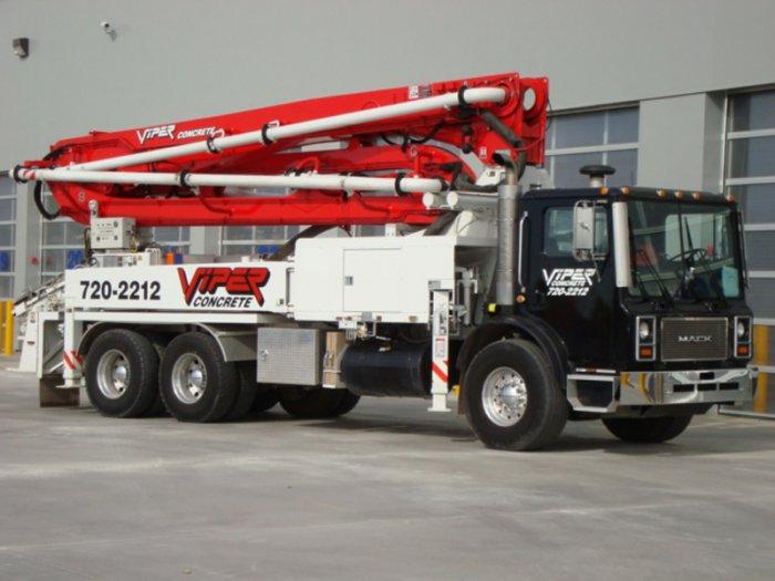 Viper Concrete | Mobile Pumping Services